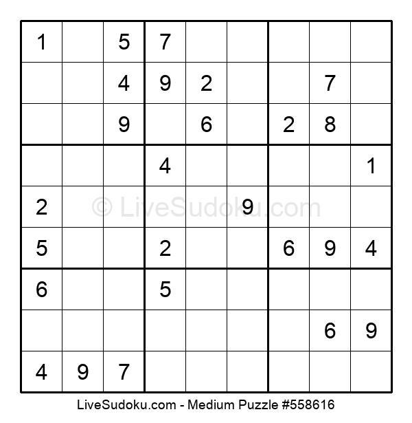 Medium Puzzle #558616