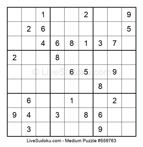 Medium Puzzle #559763