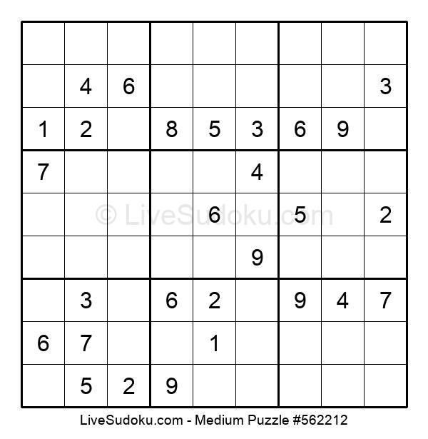 Medium Puzzle #562212