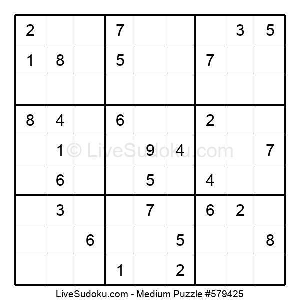 Medium Puzzle #579425