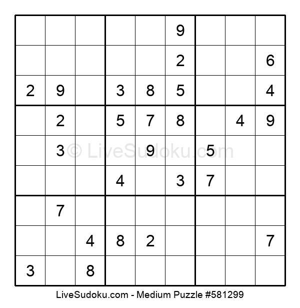 Medium Puzzle #581299