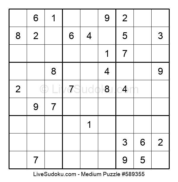 Medium Puzzle #589355