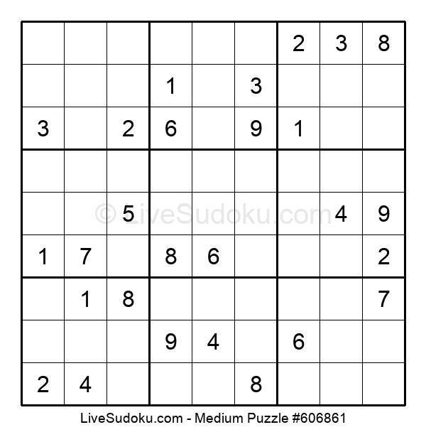 Medium Puzzle #606861