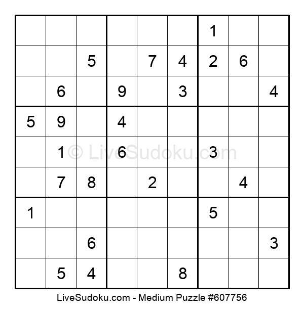 Medium Puzzle #607756