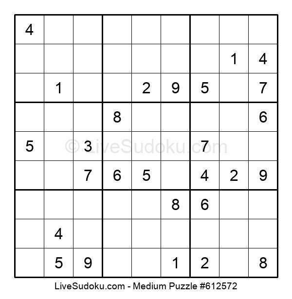 Medium Puzzle #612572