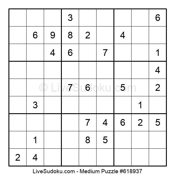 Medium Puzzle #618937