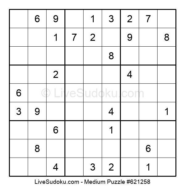 Medium Puzzle #621258