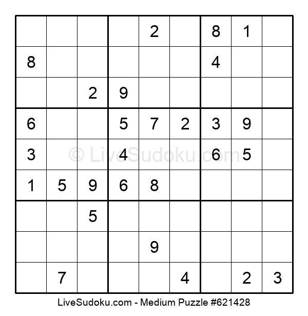 Medium Puzzle #621428