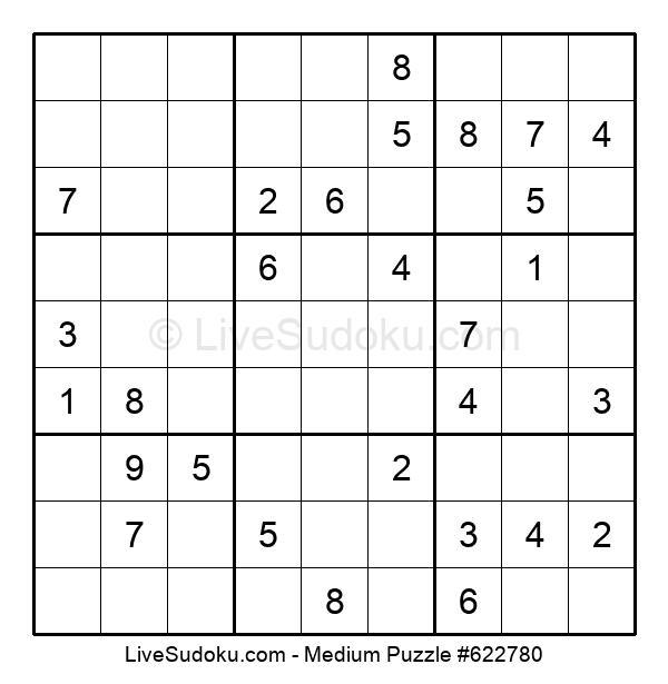 Medium Puzzle #622780