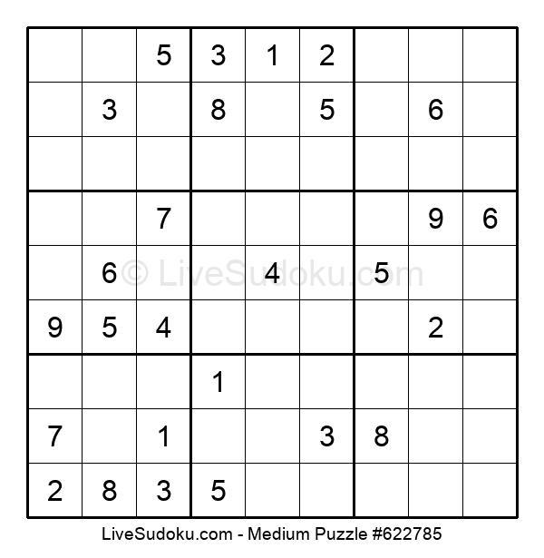 Medium Puzzle #622785