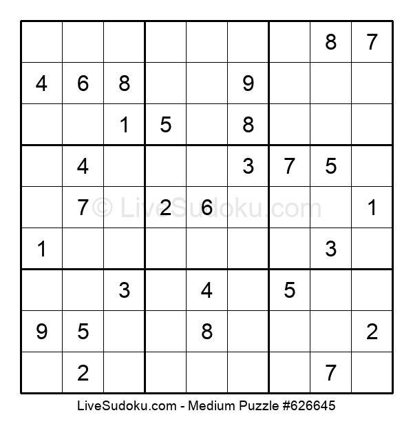 Medium Puzzle #626645