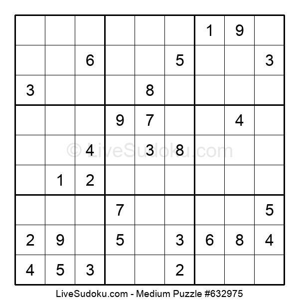 Medium Puzzle #632975