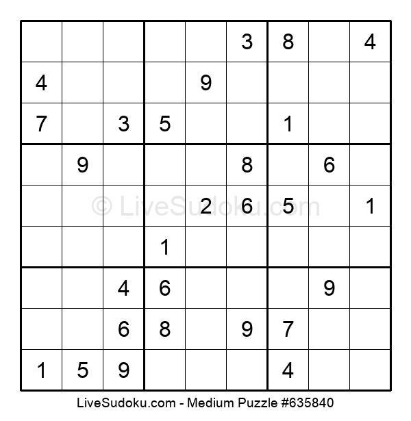 Medium Puzzle #635840
