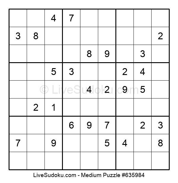 Medium Puzzle #635984