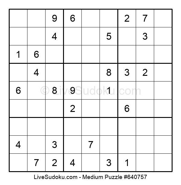 Medium Puzzle #640757