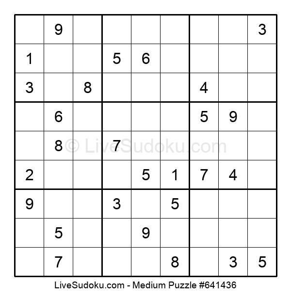 Medium Puzzle #641436