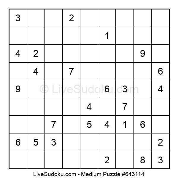 Medium Puzzle #643114