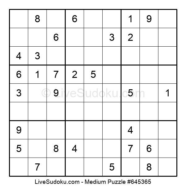 Medium Puzzle #645365