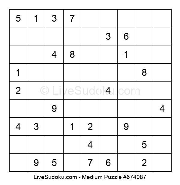 Medium Puzzle #674087