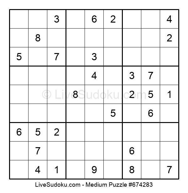 Medium Puzzle #674283
