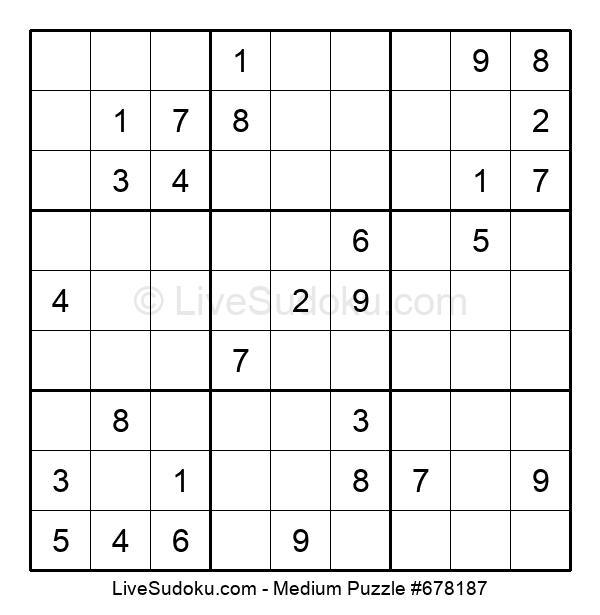 Medium Puzzle #678187