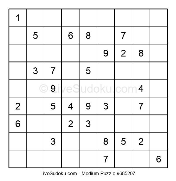 Medium Puzzle #685207