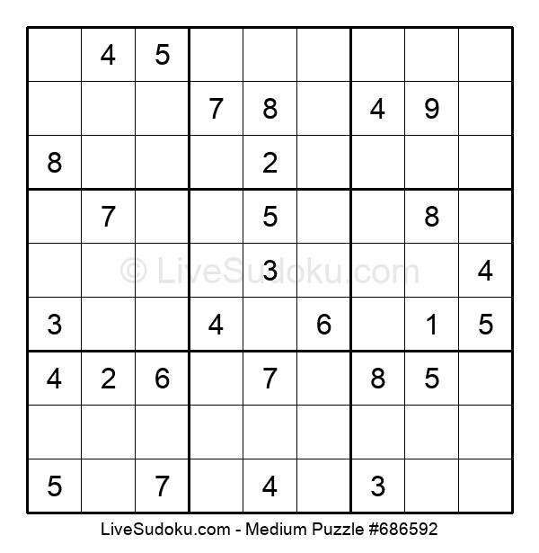Medium Puzzle #686592