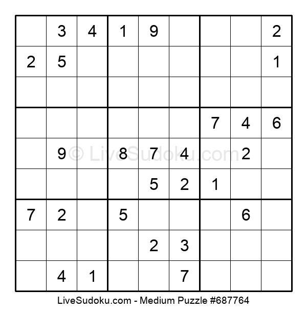 Medium Puzzle #687764