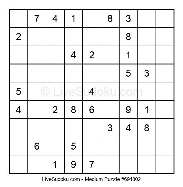 Medium Puzzle #694802
