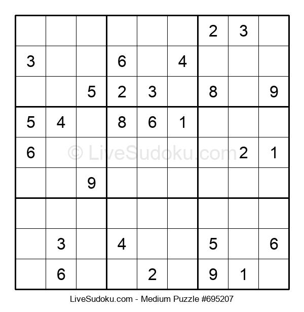 Medium Puzzle #695207