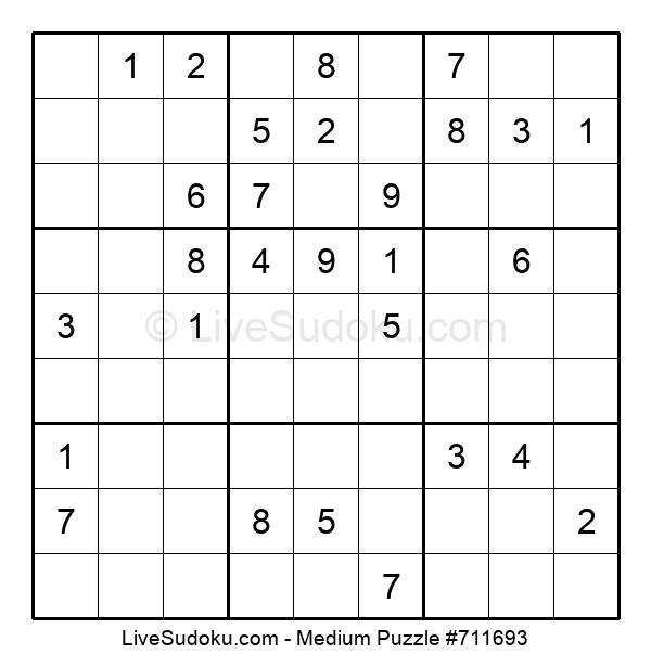 Medium Puzzle #711693