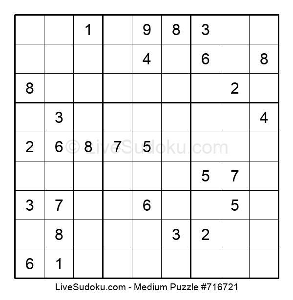 Medium Puzzle #716721