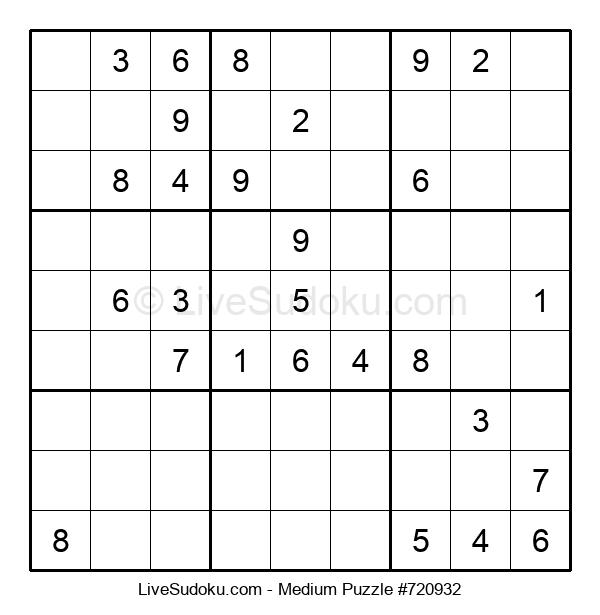 Medium Puzzle #720932