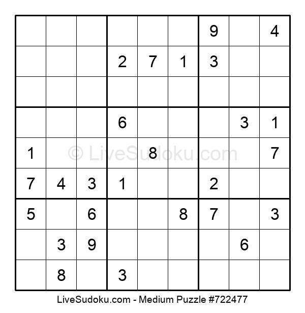Medium Puzzle #722477
