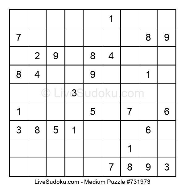 Medium Puzzle #731973