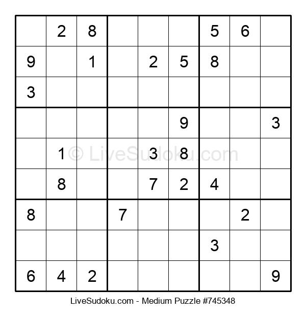 Medium Puzzle #745348