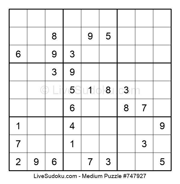 Medium Puzzle #747927
