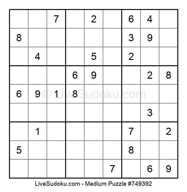 Medium Puzzle #749392