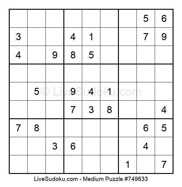 Medium Puzzle #749633