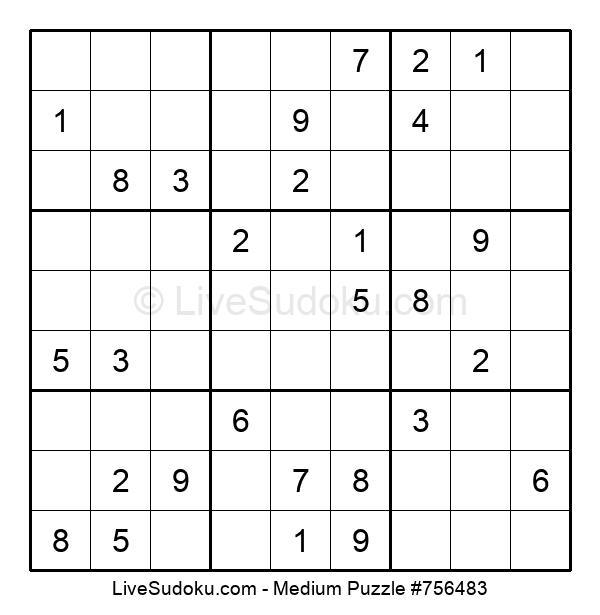 Medium Puzzle #756483