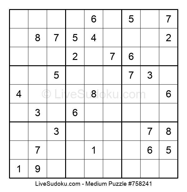 Medium Puzzle #758241