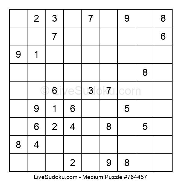 Medium Puzzle #764457