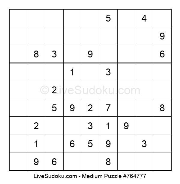 Medium Puzzle #764777