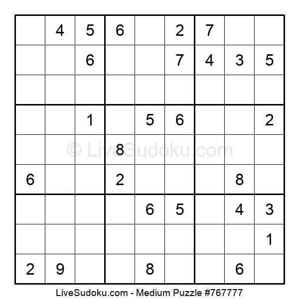 Medium Puzzle #767777