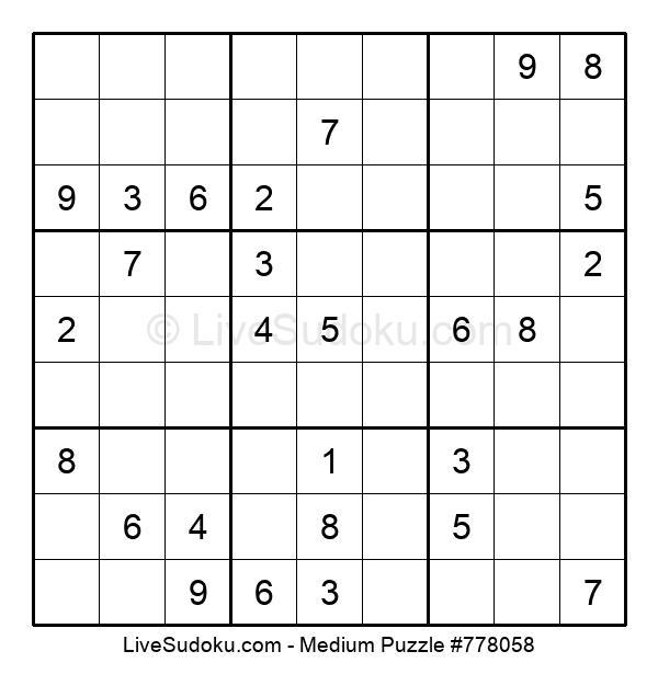 Medium Puzzle #778058