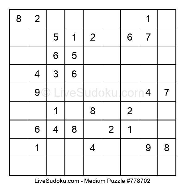 Medium Puzzle #778702