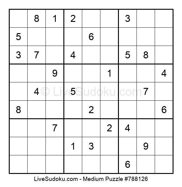 Medium Puzzle #788126