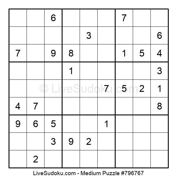 Medium Puzzle #796767