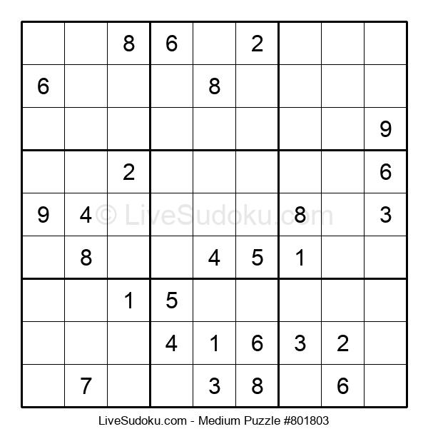 Medium Puzzle #801803