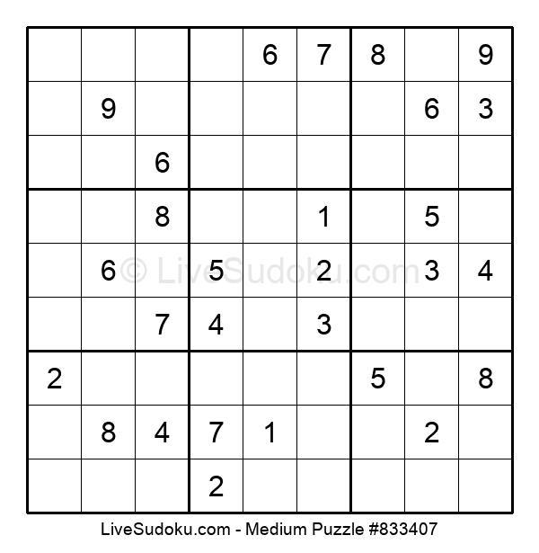 Medium Puzzle #833407